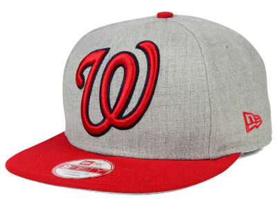 Washington Nationals MLB Logo Grand 9FIFTY Snapback Cap Hats