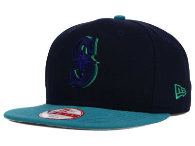 Seattle Mariners MLB Shadow Slice 9FIFTY Snapback Cap Hats