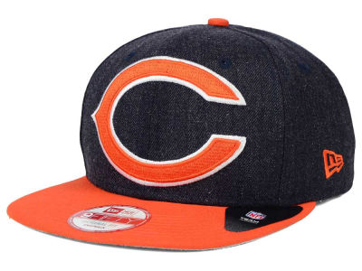 Chicago Bears NFL Logo Grand 9FIFTY Snapback Cap Hats