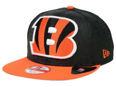 Cincinnati Bengals NFL Logo Grand 9FIFTY Snapback Cap Hats
