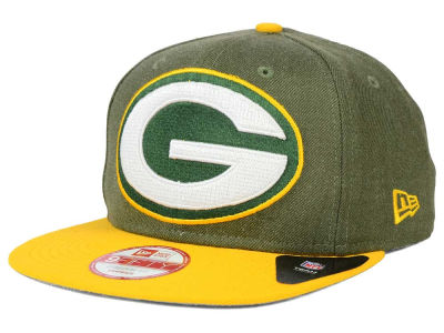 Green Bay Packers NFL Logo Grand 9FIFTY Snapback Cap Hats