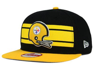 Pittsburgh Steelers New Era NFL Retro Striped 9FIFTY Snapback Cap ... 6e82b0d2e