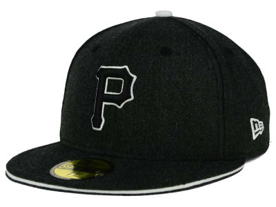 Pittsburgh Pirates MLB Heather Slice 59FIFTY Cap Hats