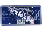 Indianapolis Colts Rico Industries #1 Fan Tag-Rico Auto Accessories