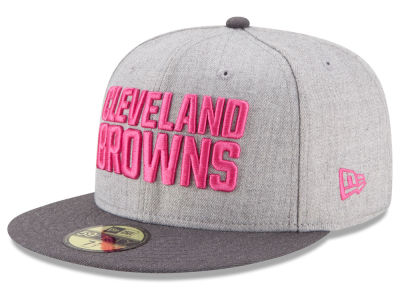 Cleveland Browns NFL 2015 Breast Cancer Awareness 59FIFTY Cap Hats