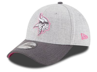 7093c661f11 Minnesota Vikings New Era NFL 2015 Breast Cancer Awareness 39THIRTY Cap