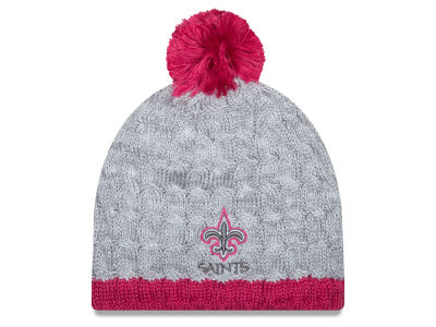 New Orleans Saints NFL 2015 Women's Breast Cancer Awareness Knit Hats
