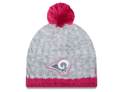 St. Louis Rams NFL 2015 Women's Breast Cancer Awareness Knit Hats