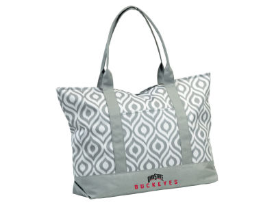 Logo Chair Ikat Tote