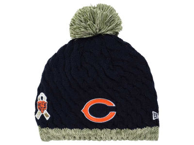 Chicago Bears NFL 2015 Women's Salute to Service Knit Hats