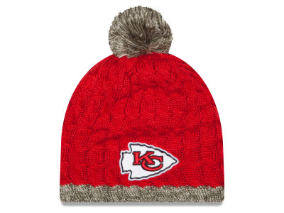 Kansas City Chiefs NFL 2015 Women's Salute to Service Knit Hats