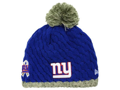 New York Giants NFL 2015 Women's Salute to Service Knit Hats