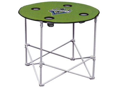Seattle Sounders FC Logo Chair Round Folding Table
