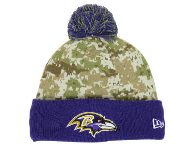 Baltimore Ravens NFL 2015 Salute to Service Knit Hats
