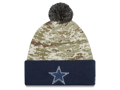 97d433282e8 Dallas Cowboys New Era NFL 2015 Salute to Service Knit