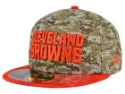 Cleveland Browns New Era NFL 2015 Salute to Service 59FIFTY Cap Fitted Hats