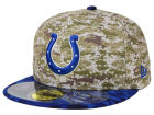 Indianapolis Colts New Era NFL 2015 Salute to Service 59FIFTY Cap Fitted Hats
