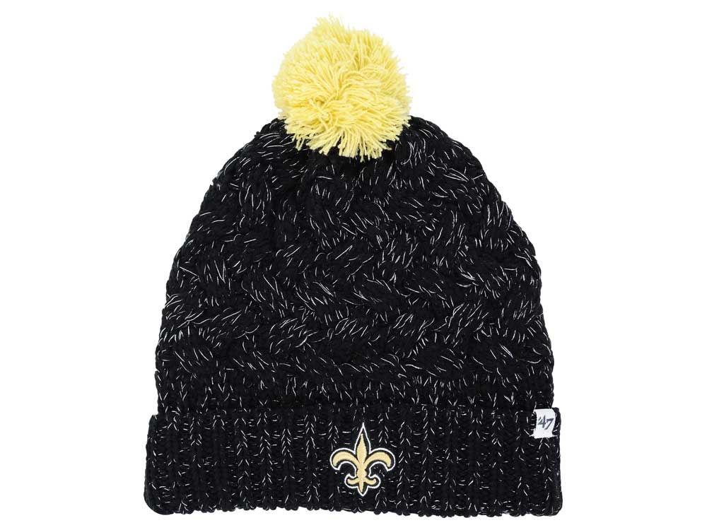5dd3360a New Orleans Saints '47 NFL Women's '47 Fiona Pom Knit chic ...