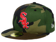 New Era MLB The Under Woodland 59FIFTY Cap Fitted Hats