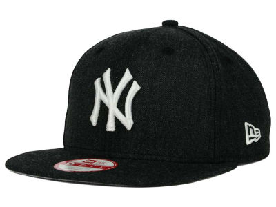 New York Yankees MLB Heather C-Dub 9FIFTY Snapback Cap Hats