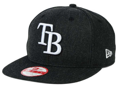 Tampa Bay Rays MLB Heather C-Dub 9FIFTY Snapback Cap Hats