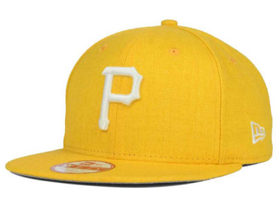Pittsburgh Pirates MLB Heather C-Dub 9FIFTY Snapback Cap Hats