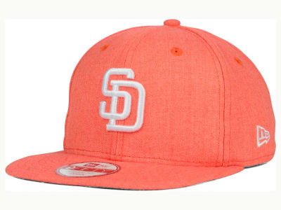 San Diego Padres MLB Heather C-Dub 9FIFTY Snapback Cap Hats