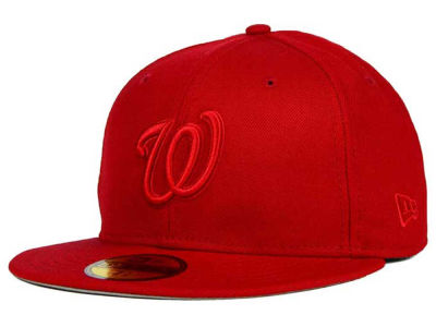 Washington Nationals MLB Ton-Wool 59FIFTY Cap Hats