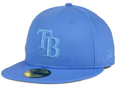 Tampa Bay Rays MLB Ton-Wool 59FIFTY Cap Hats