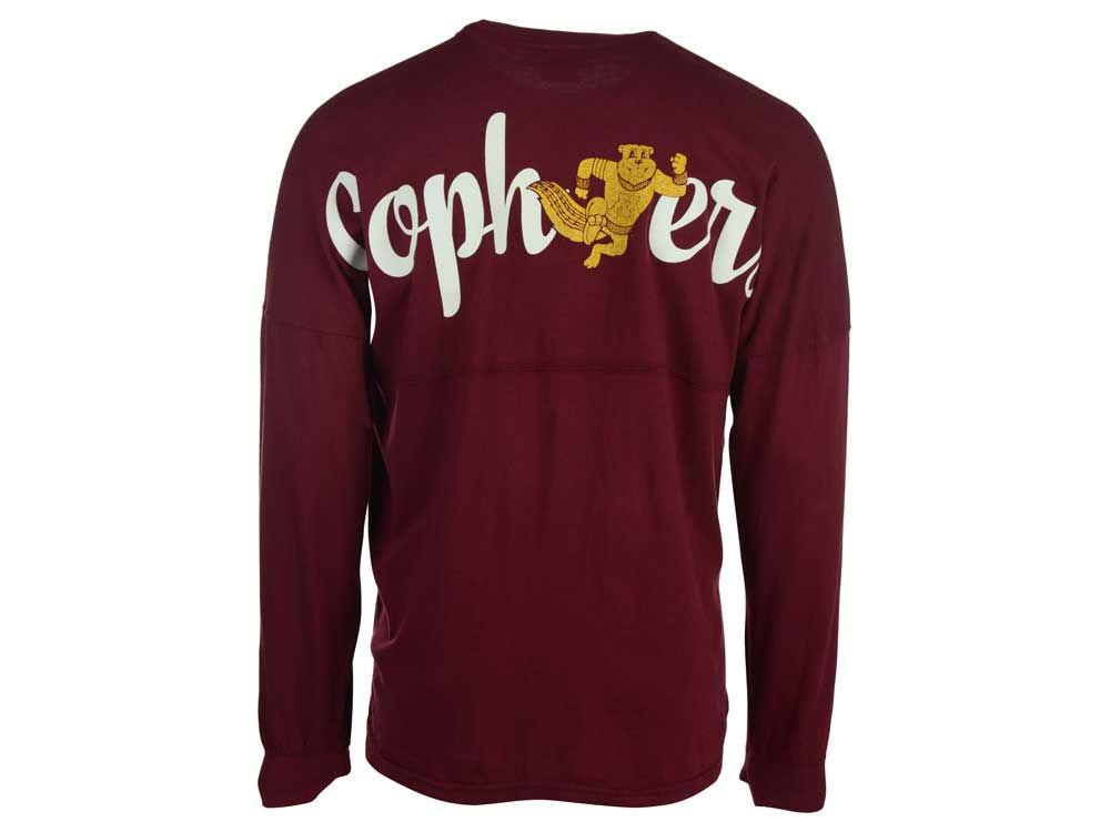 finest selection 2e3ae d75cf Minnesota Golden Gophers NCAA Women s Script Logo Sweeper Shirt best.