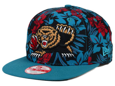 Vancouver Grizzlies NBA HWC Wowie 9FIFTY Snapback Cap Hats