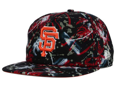 San Francisco Giants MLB Glow Speck A-Frame Original Fit 9FIFTY Snapback Cap Hats