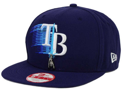 Tampa Bay Rays SW X MLB Logoswipe 9FIFTY Original Fit Snapback Cap Hats