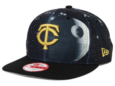 Minnesota Twins Death Star  SW x MLB 9FIFTY Original Fit Snapback Cap Hats