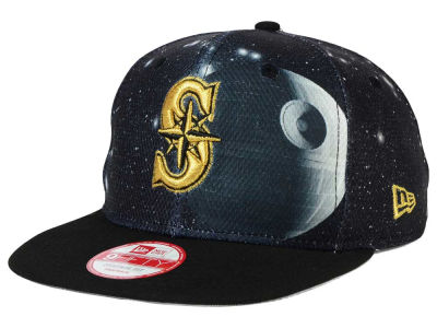 Seattle Mariners Death Star  SW x MLB 9FIFTY Original Fit Snapback Cap Hats