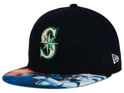 Seattle Mariners MLB x Star Wars Viza Print 59FIFTY Cap Hats