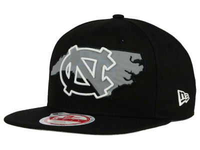 North Carolina Tar Heels NCAA State Flective 9FIFTY Snapback Cap Hats