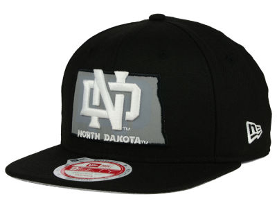 North Dakota Fighting Hawks NCAA State Flective 9FIFTY Snapback Cap Hats