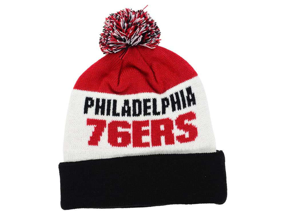 ec8eca6766ea9 Philadelphia 76ers  47 NBA  47 Crossblock Cuff Knit lovely - multit.nl