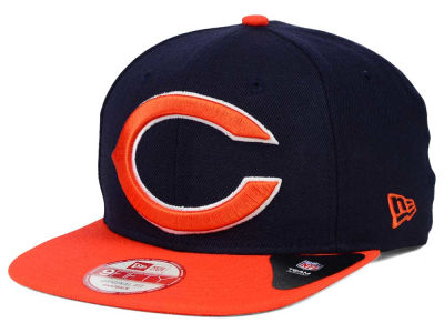 Chicago Bears NFL Wool Classic XL Logo 9FIFTY Snapback Cap Hats