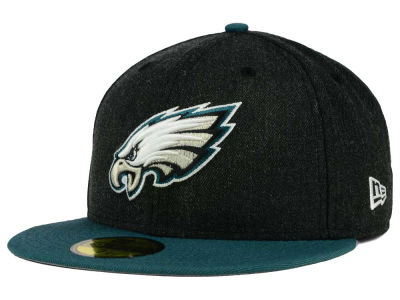 Philadelphia Eagles NFL Heather Action 2 Tone 59FIFTY Cap Hats