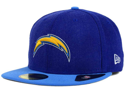 Los Angeles Chargers NFL Heather Action 2 Tone 59FIFTY Cap Hats