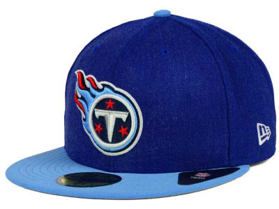 Tennessee Titans NFL Heather Action 2 Tone 59FIFTY Cap Hats