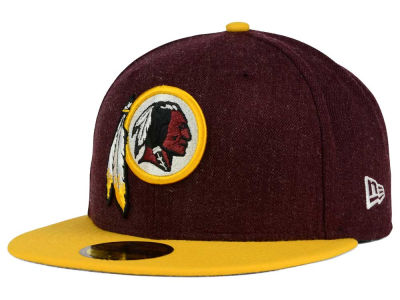 Washington Redskins NFL Heather Action 2 Tone 59FIFTY Cap Hats