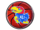 Kansas Jayhawks Circle Metall Auto Emblem Auto Accessories