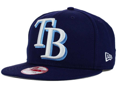 Tampa Bay Rays MLB Biggie 9FIFTY Snapback Cap Hats
