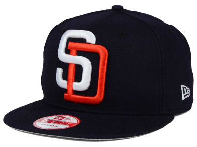 San Diego Padres MLB Biggie 9FIFTY Snapback Cap Hats