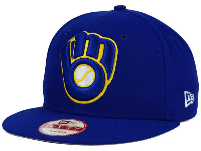 Milwaukee Brewers MLB Biggie 9FIFTY Snapback Cap Hats