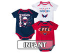 Washington Capitals Reebok NHL Infant 3 Pt Spread Creeper Set Outfits