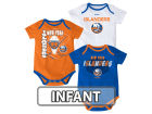 New York Islanders Reebok NHL Infant 3 Pt Spread Creeper Set Outfits